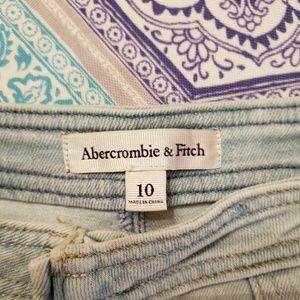 Abercrombie & Fitch Skirts - Abercrombie & Fitch Mini Denium Skirt